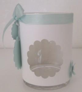 Teelichthalter Taufe 2