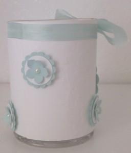 Teelichthalter Taufe 3