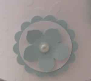 Teelichthalter Taufe 4