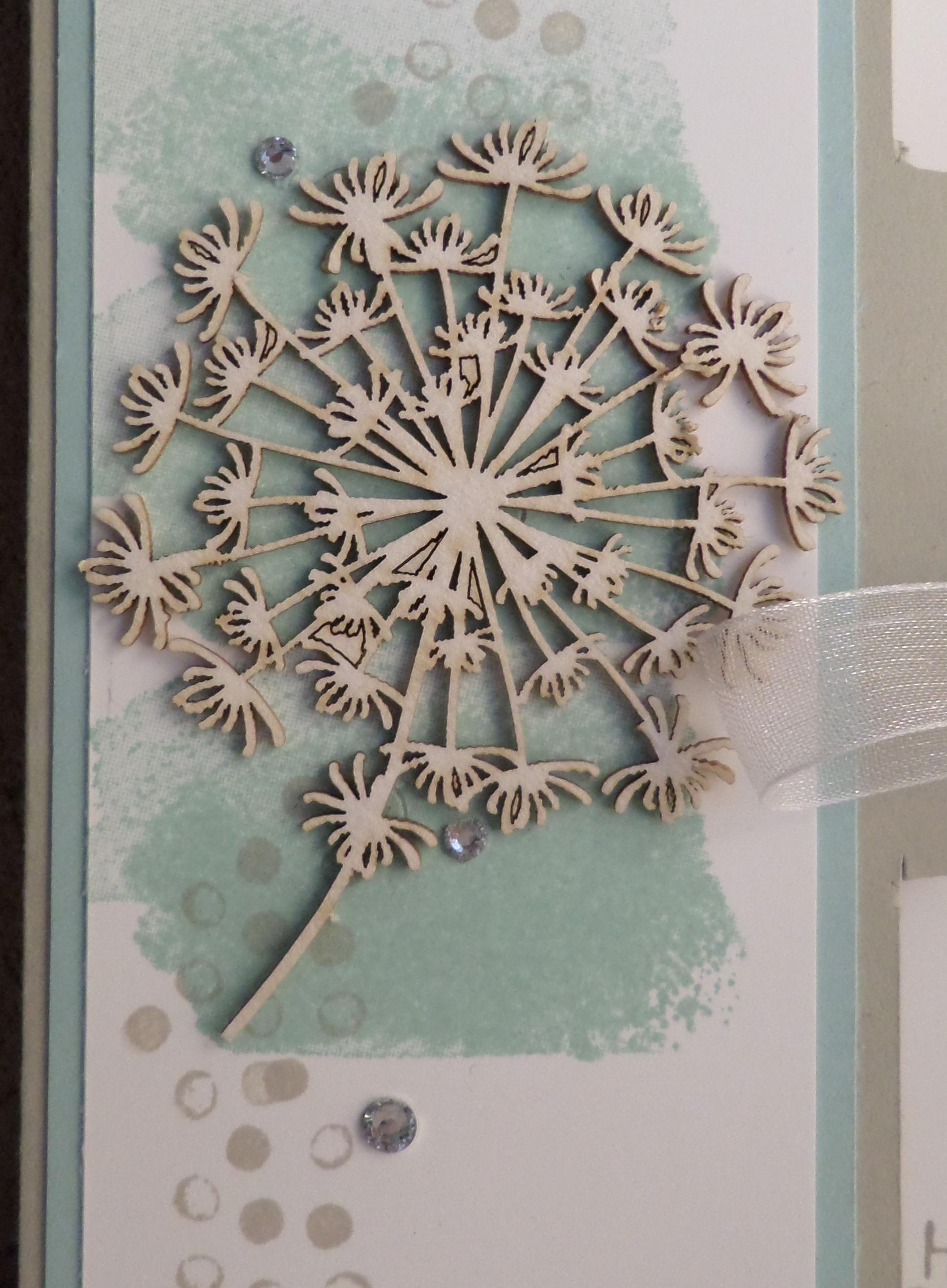 Geburtstagskarte mit pusteblume kleine stempelmiez - Pusteblume basteln ...