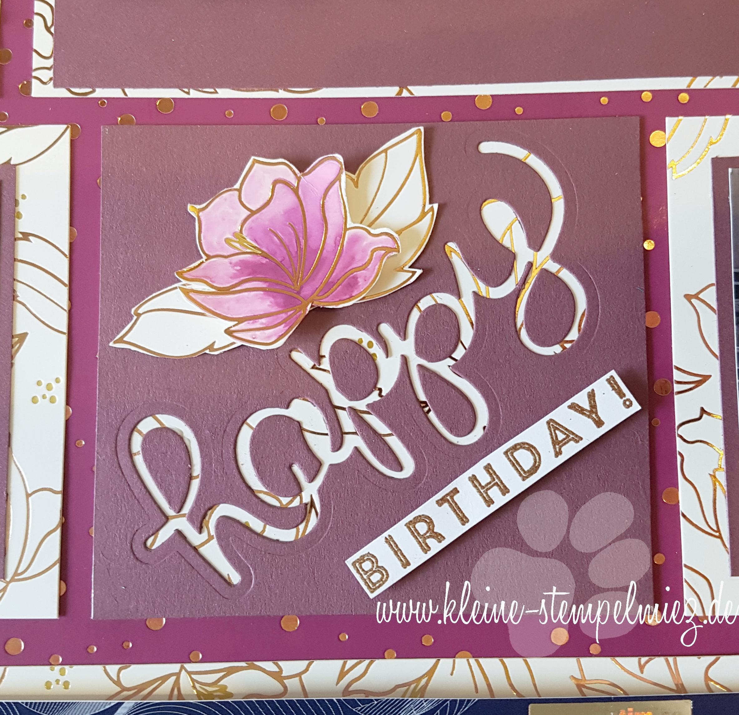 Ein besonderes Geburtstagsgeschenk – eine Konzertkarte im ...