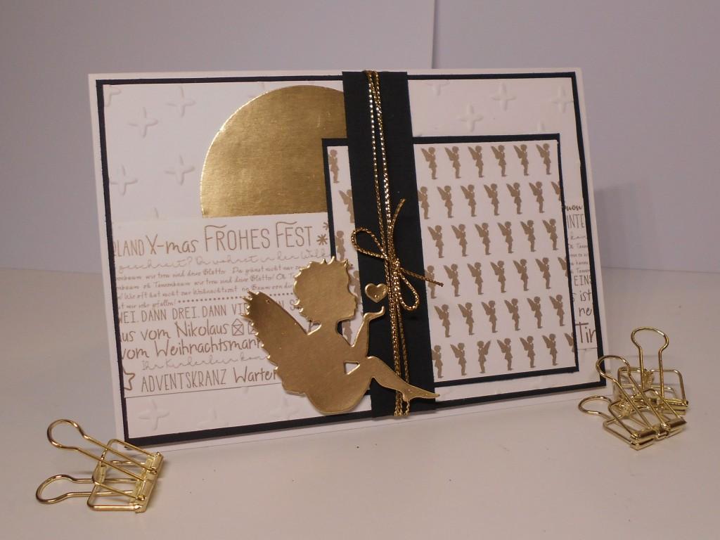 Wunderbar Edle Weihnachtskarten Basteln Dekoration Von Die Karte Besteht Aus Weiß, Darüber Habe