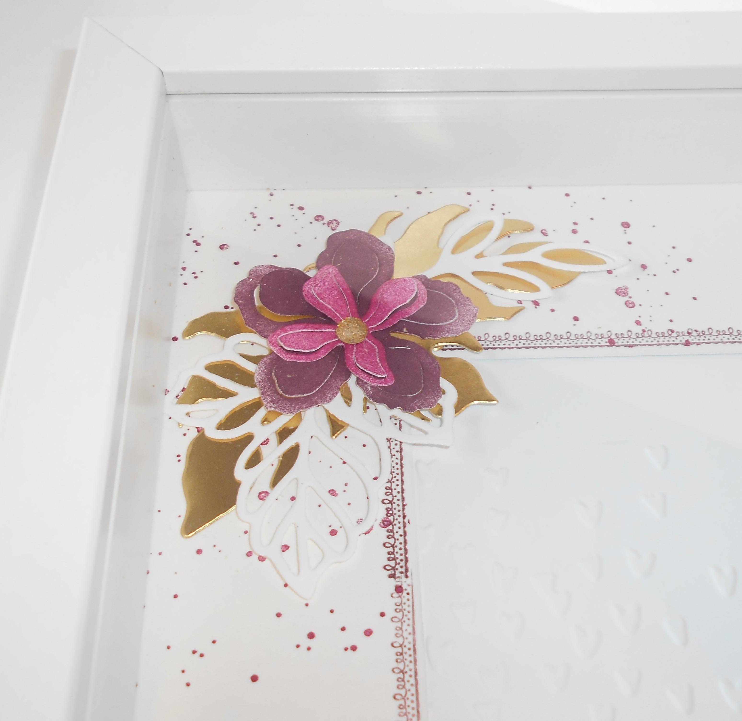 Ribba Rahmen zum 50. Geburtstag | Kleine Stempelmiez – Basteln aus Liebe