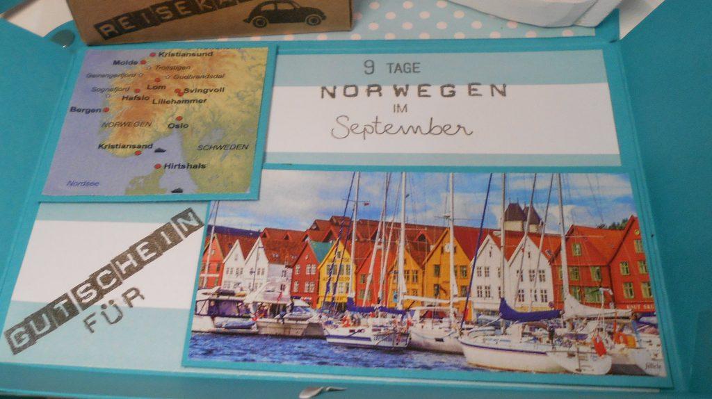 Ein Reisegutschein Im Koffer Geschenk Zum 65 Geburtstag